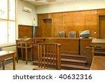 old vintage court room. close...   Shutterstock . vector #40632316