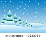 illustration of a winter...   Shutterstock .eps vector #40633759