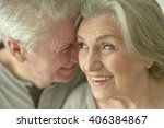 happy senior couple | Shutterstock . vector #406384867