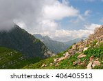 beautiful view of mountain... | Shutterstock . vector #406405513
