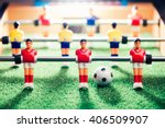 table football game  abstract... | Shutterstock . vector #406509907