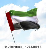 flag of united arab emirates... | Shutterstock . vector #406528957