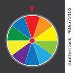 vector illustration of a wheel... | Shutterstock .eps vector #406572103