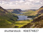 Looking Down On Buttermere...