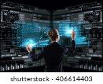modern technologies in use   Shutterstock . vector #406614403
