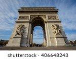 arc de triomphe etoile | Shutterstock . vector #406648243