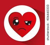 expressive faces design  | Shutterstock .eps vector #406660333