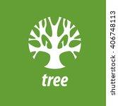 vector logo tree | Shutterstock .eps vector #406748113