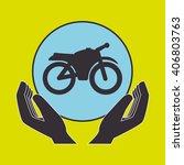 mass transport design  | Shutterstock .eps vector #406803763