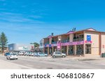 jeffreys bay  south africa  ... | Shutterstock . vector #406810867