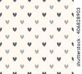 heart seamless pattern  modern... | Shutterstock .eps vector #406828903