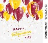 sri lanka independence day... | Shutterstock .eps vector #406866043
