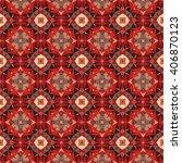 vector seamless mosaic pattern... | Shutterstock .eps vector #406870123
