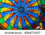 Bright Color Stained Glass...