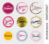 summer badge for your design ... | Shutterstock .eps vector #406910467