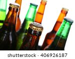 Bottles Of Beer  Closeup