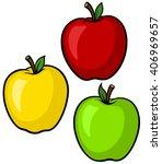 vector illustration of a... | Shutterstock .eps vector #406969657