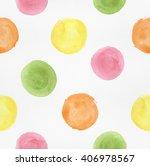 watercolor seamless pattern... | Shutterstock . vector #406978567