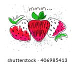 hand drawn illustration of... | Shutterstock .eps vector #406985413