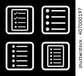 list items vector icon. image...