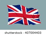 national flag vector editable... | Shutterstock .eps vector #407004403