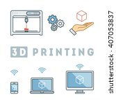 flowchart of 3d printing...