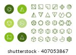collection of thin 30 icons 6... | Shutterstock .eps vector #407053867