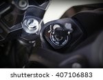 part of motorcycle body  speed... | Shutterstock . vector #407106883