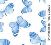 Butterfly. Watercolor...