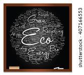 vector concept or conceptual... | Shutterstock .eps vector #407166553