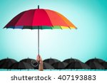 life health insurance... | Shutterstock . vector #407193883