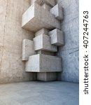 architectural design of...   Shutterstock . vector #407244763