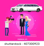 vector detailed character rich... | Shutterstock .eps vector #407300923