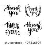 hand drawn vector illustration. ... | Shutterstock .eps vector #407316907