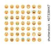 Set Of Emoticons  Emoji...
