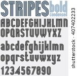 parallel striped black and... | Shutterstock .eps vector #407402233