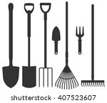 Set Of Garden Tools  Spade ...