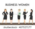 minimal flat vector... | Shutterstock .eps vector #407527177