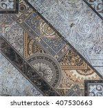 tiles with patterns  geometry | Shutterstock . vector #407530663