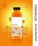 juice packaging vector...   Shutterstock .eps vector #407684863