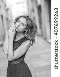 model dance in reggio emilia... | Shutterstock . vector #407699263