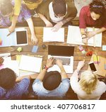 educational institution friend... | Shutterstock . vector #407706817