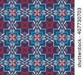 seamless pattern of arabic... | Shutterstock .eps vector #407730703