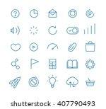 modern web and mobile... | Shutterstock .eps vector #407790493