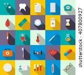 medicine set | Shutterstock . vector #407800927