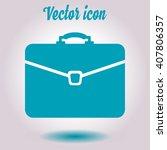 briefcase icon  vector...