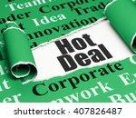 finance concept  black text hot ...   Shutterstock . vector #407826487