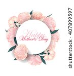 mothers  day concept.  ... | Shutterstock .eps vector #407899597