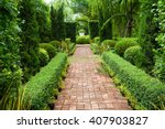 Walkway Through English Countr...