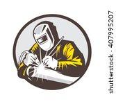 welder | Shutterstock .eps vector #407995207